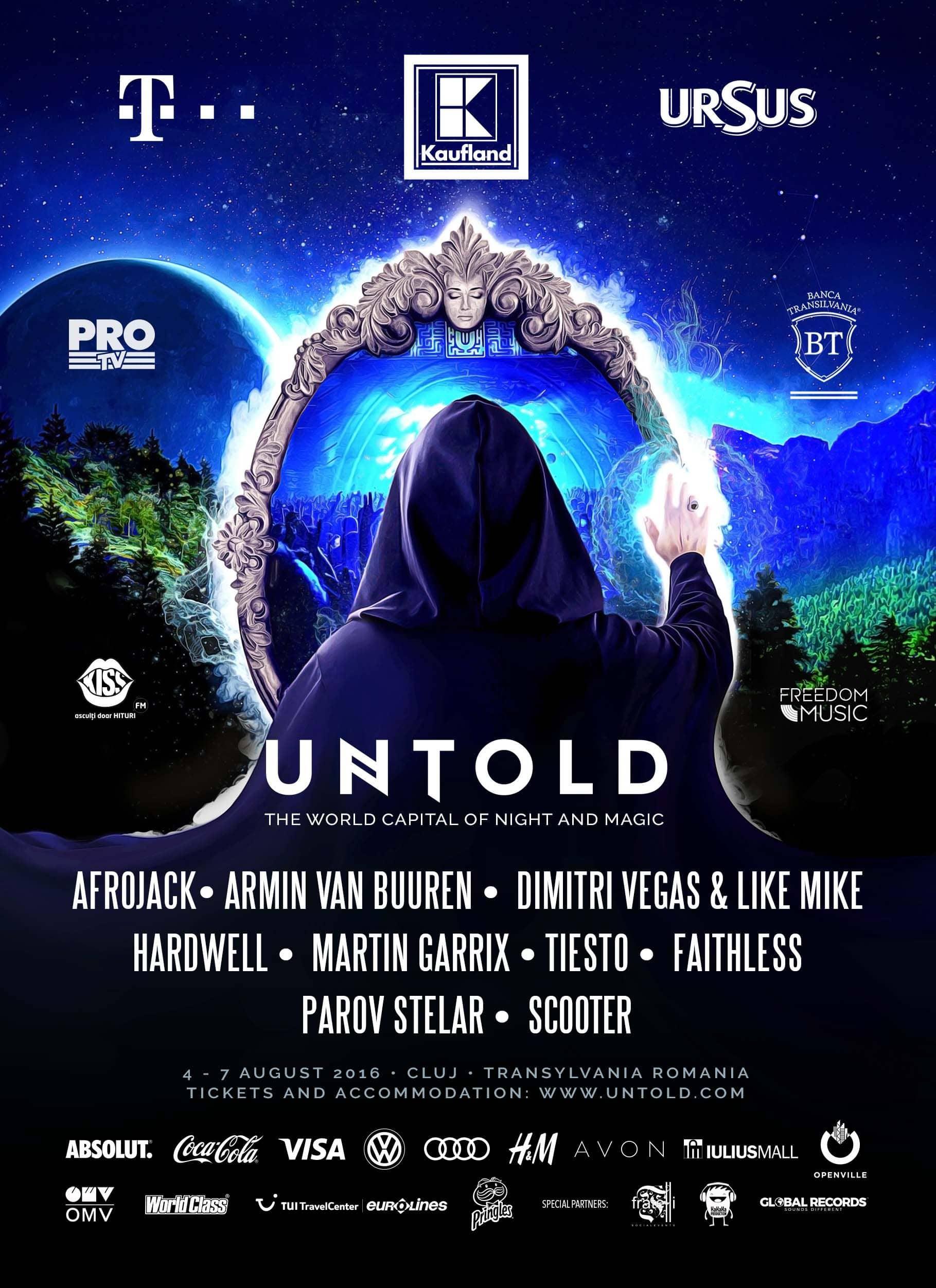 UNTOLD 2016 - ÎNDRUMĂTOR DE FESTIVAL