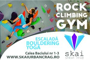 SKAI Urban Crag - escaladă - bouldering - yoga